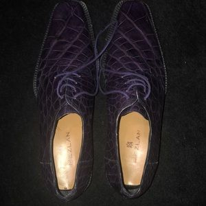Mezlan Purple Shoes